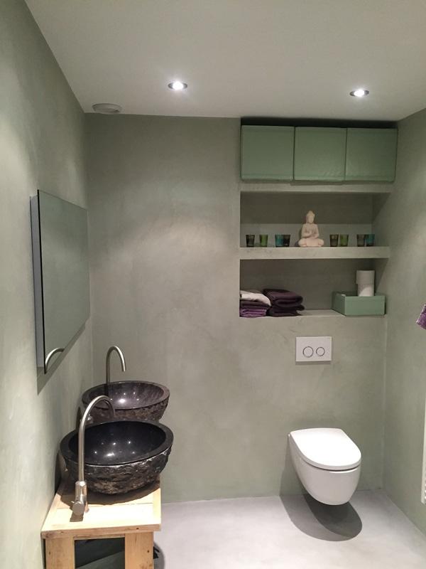 Concrete Look Bathrooms